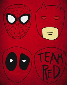 Team Red by platypusdistro