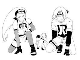 Narumon: Team Rocket by maimai97