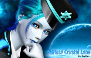 Fantasy Crystal eyes Lens Sims3 by tyrblue