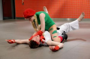 [x] Cammy vs Ryu [x] by King-OfTheWorld