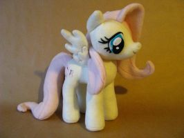 Fluttershy plush with posable wings FOR SALE by chu-po-po