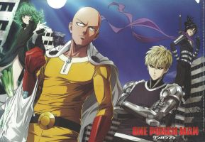 One Punch Man Wallpaper Anime by corphish2