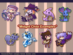 Midget Chibi Samples by PhuiJL
