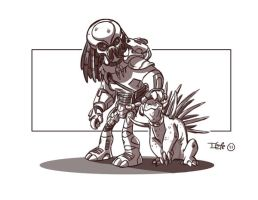 Predator Tracker Commish by D-Gee