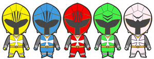 power rangers knights
