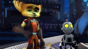 Ratchet and Clank Bow Animation Gif (All 4 One) by GT4tube