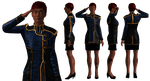 Outfit: Dress Blues Skirt Variant by Just-Jasper