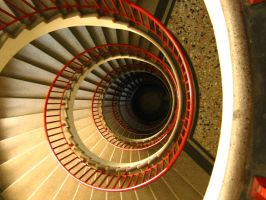 Stairs 01 by restmlinstock