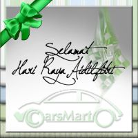 Hari Raya Greeting Card by ValerieChiuh