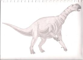 Muttaburrasaurus by Dodgehful