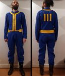 Fallout 4 Vault Jumpsuit by Morgan-Timblene