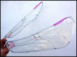 Clear Dragonfly Sprite Wings by Therione