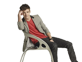 Grant Gustin Png by Tereklaine