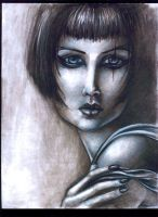 Charcoal woman -- by asunder