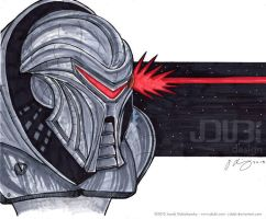 Cylon Centurion by J-Dubi