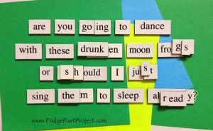 The Daily Magnet #140 - BOP by FridgePoetProject