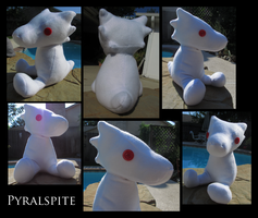 pyralspite plush by freymotif