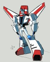 G1 animated Skyfire by dcjosh