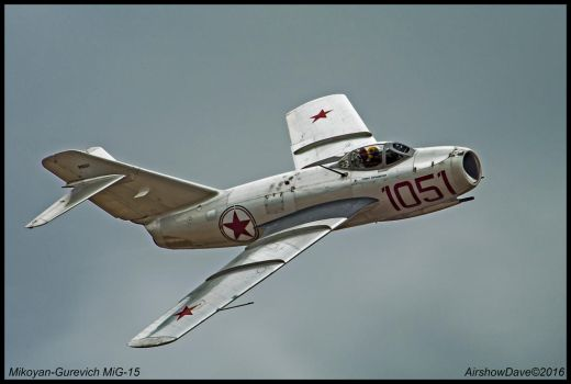 Mikoyan-Gurevich Mig-15 by AirshowDave