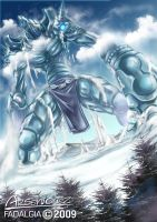 ice golem by arseniquez
