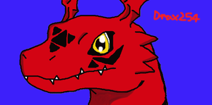 Guilmon by Drax254