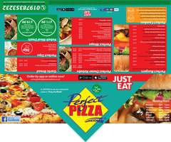 Perfect Pizza Menu 1 Front&Back by GHussain