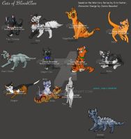 Cats of BloodClan by JB-Pawstep