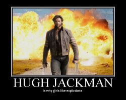 Hugh Jackman by Dorktron