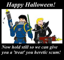 Happy Halloween you heretics by sordcooper2