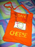 Say Cheese Purse by cadillacphunque