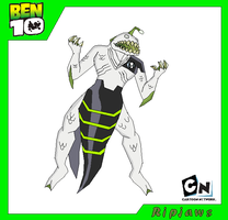 Ripjaws - Ben 10 by Bentenny10
