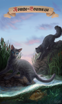Warrior cats - Mistyfoot and Stonefur by Cat-Patrisiya