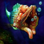 fish-hand by vp021