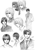 First time posting sketches... by Lynling