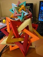 Sets of Interlocking Tetrahedra by Henry-Crun