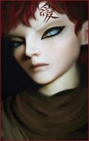 gaara speedpaint by jezebel