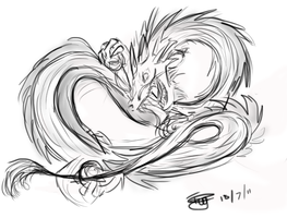 Chinese Dragon - Commision by iPipster