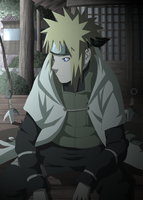 Minato Sitting - Night by 3spn4life