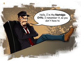 Nostalgia Critic by MaroBot