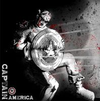 Captain America by FlashElectron