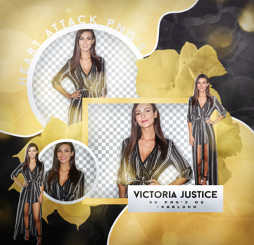 +Victoria Justice Pack Png by Heart-Attack-Png