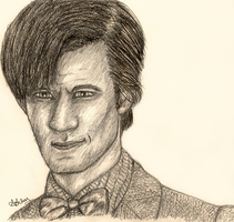 Matt Smith as the 11th Doctor by Animalluver1985