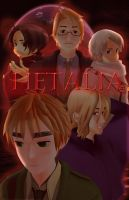 MMD - Hetalia by MoonlitSatin