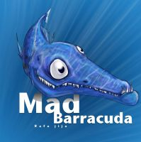 Mad barracuda by rafajija
