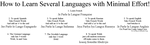 How to learn several languages by Spiritswriter123