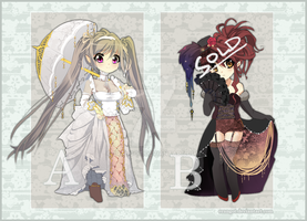Adoptables | SET 8 [CLOSED] by Erangot