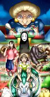 Spirited Away by Smudgeandfrank