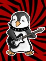 Metal penguin by Mamoru-sama