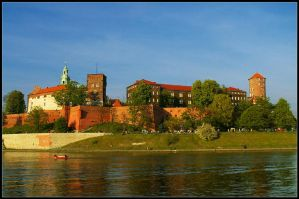 Wawel in spring by uglybitch