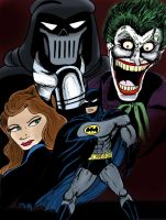 Batman Mask of The Phantasm by C4L